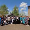 """8 мая Якутовский СДК провели митинг """"Хатер мангелек!"""" праздничный концерт посвященный ко Дню победы, и угощали солдатской кашей всех гостей"""
